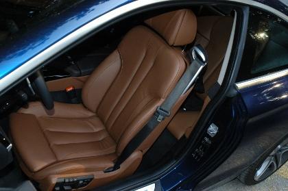 BMW 640d Coupe: Sitze, Ledersitze, Dachlinie
