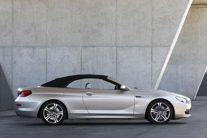 BMW 6er Cabrio: der 650i im Test, Seitenansicht, Dach geschlossen