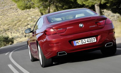 BMW 6er Coupe: Heck, von hinten, Auspuffanlage, Auspuff, Abgasanlage