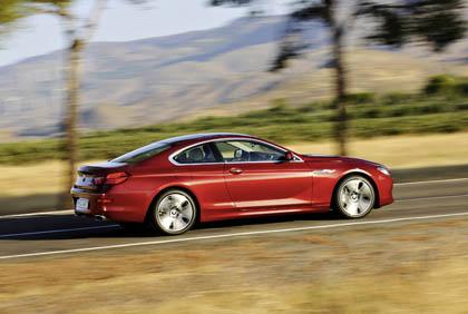BMW 6er Coupe Testbericht: Seitenansicht, von der Seite