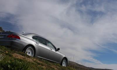 BMW 750i / 750Li Fahrbericht: Seitenansicht, von der Seite, Langversion