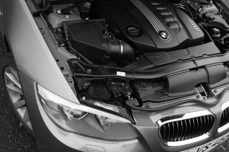 BMW 330xd Coupe Test: Motor, engine, Reihensechszylinder Dieselmotor, Sechzylinder