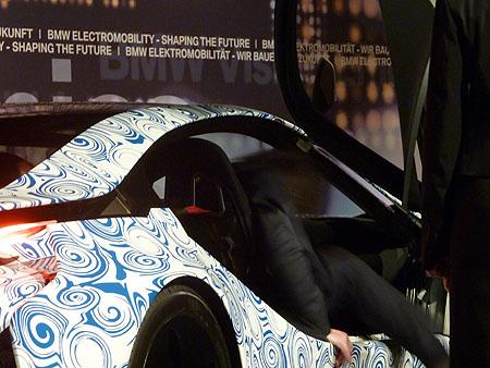 BMW i8 Prototyp: Ausstieg, Einstieg, Tür