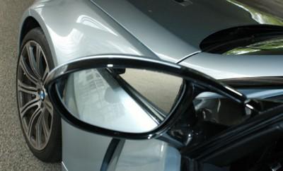 BMW M3 Cabrio Test: Rückspiegel, Spiegel, Felge, Front