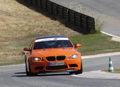 BMW M3 GTS Fahrbericht: M3 mit 450 PS, Front von vorne