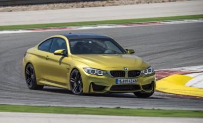 BMW M4 Fahrbericht: Front, Scheinwerfer, Seite, golden, Lufteinlässe, Frontspoiler