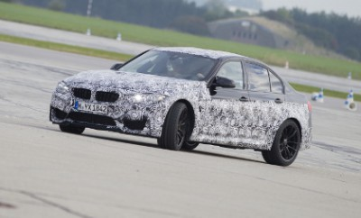 BMW M4 Fahrbericht: Prototype, getarnt