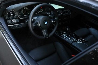 BMW M550d Touring: Cockpit, Lenkrad, steering wheel
