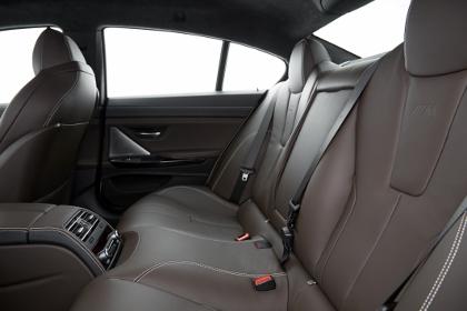 BMW M6 Gran Coupe: hinten sitzen, Rücksitze, vier Sitze