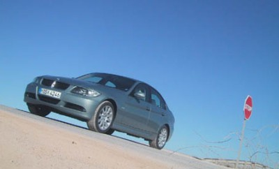 BMW 3er Fahrbericht: von vorne, Seite