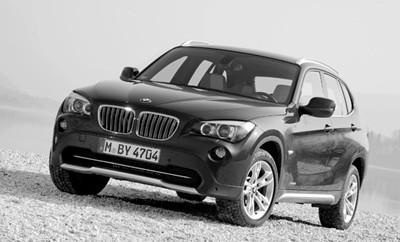 BMW X1 28i Testbericht: Front, von vorne, Bug