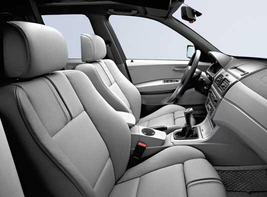 BMW X3 im Test: die erste Generation, Innenraum, interior, Sitze, Ledersitze