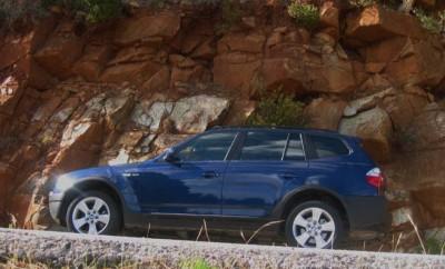 BMW X3 Testbericht: Seitenansicht, von der Seite