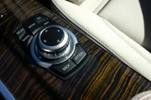 BMW X3 Test: iDrive Controller, Bedienung, Tasten