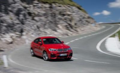 BMW X4 Test, mit 306 PS Reihensechszylinder, Vorderansicht, Seitenansicht