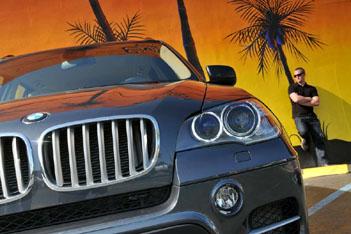 BMW X5 40sd Diesel Facelift im Test: Front, Scheinwerfer, Niere, Nebelscheinwerfer