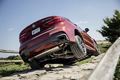 BMW X6 M50d im Test, offroad, im Gelände