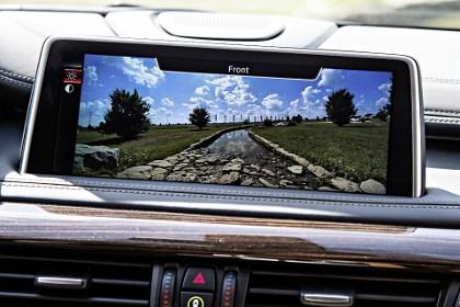 BMW X6 M50d Test: Frontkamera, Kamera, Monitor
