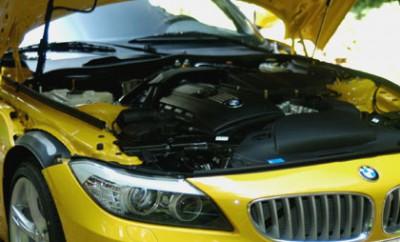 BMW Z4 35i Test: Motor, Sechszylinder, engine