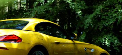 BMW Z4 35i Test: Seitenlinie, von der Seite