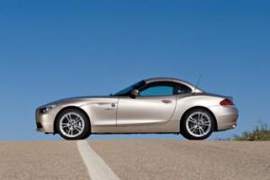 BMW Z4: Dach geschlossen, von der Seite