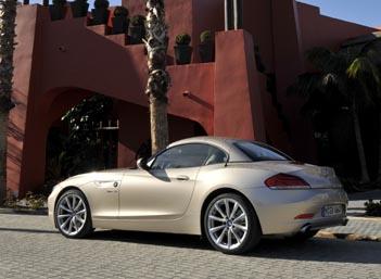 Neuer BMW Z4 Test: Seitenansicht, Heck, Dach geschlossen