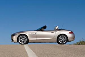 BMW Z4 Test: offen, Seitenansicht
