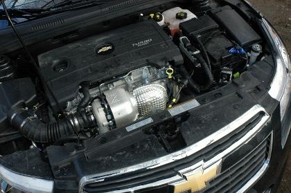 Chevrolet Cruze Kombi Diesel Test: Motor, Dieselmotor, engine
