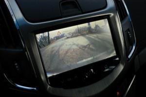 Chevrolet Cruze SW Test: interior, Kamera, Innenraum
