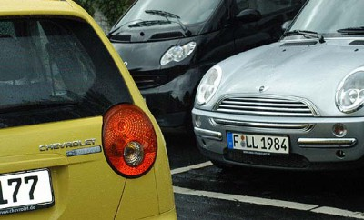 Chevrolet Matiz mit Gasantrieb Test: Heck, Mini, Smart