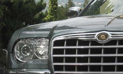 Chrysler 300C CRD Diesel Test: Front, Grill, Frontpartie