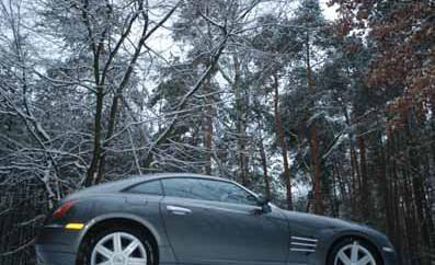 Chrysler Crossfire von der Seite, Seitenansicht