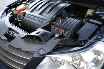 Chrysler Sebring Cabrio 2.7 Test: Motor, Antrieb, engine