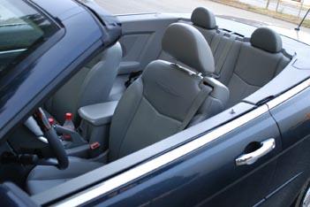 Chrysler Sebring Cabrio 2.7 Test: offener Viersitzer