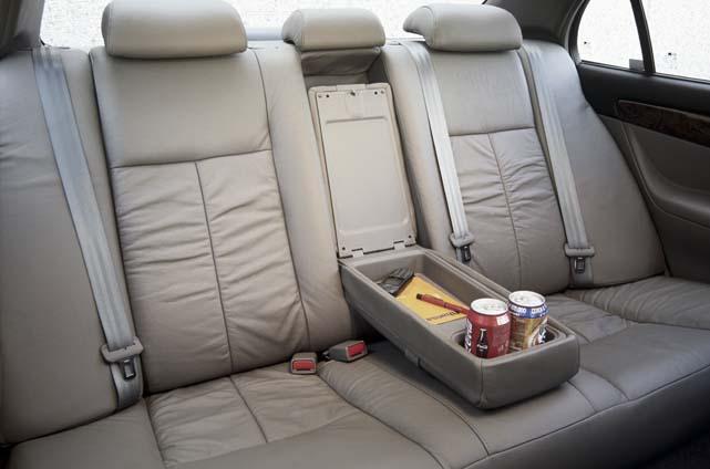 Daewoo Evanda 2,0 Test: hinten sitzen