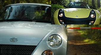 Daihatsu Copen - Smart Roadster im Test