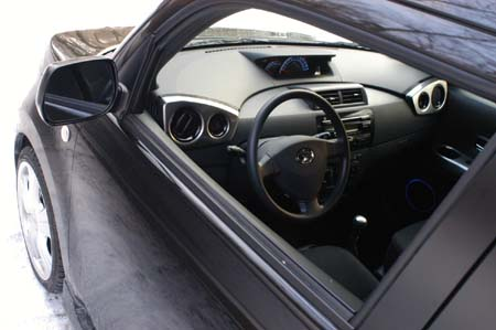 Daihatsu Materia Black Edition Test: Cockpit