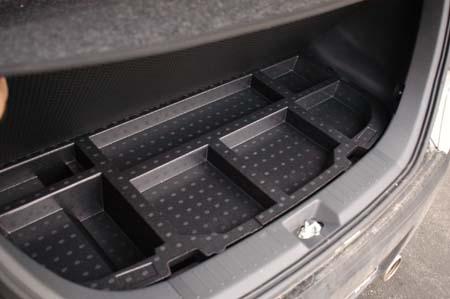 Daihatsu Materia: Kofferraum, trunk