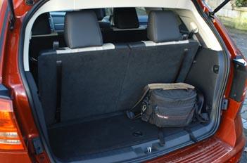 Dodge Journey Diesel: Kofferraum, trunk, boot
