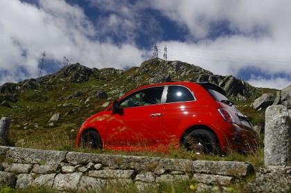 Neuer Fiat 500: Seitenansicht, von der Seite