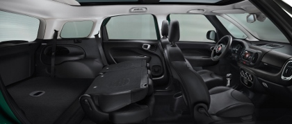 Fiat 500L Living Van: 7 Sitze