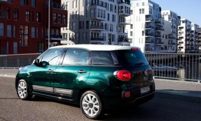 Fiat 500L Living Diesel Fahrbericht: Heck, von hinten