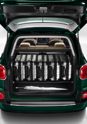 Fiat 500L Living: Kofferraum, trunk, boot