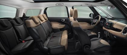 Fiat 500L Living im Test: Siebensitzer,7 Sitze, sieben