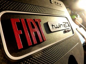 Fiat 500 Twinturbo Zweizylinder Test: Motor, engine