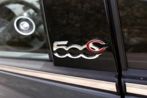 Fiat 500C 1.2 Testbericht: Schriftzug