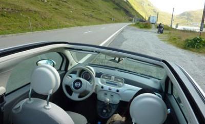 Fiat 500C: Dach, Cabriodach, Stoffdach, Cockpit
