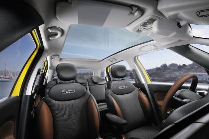 Fiat 500L Trekking: Sitze, Platz, Glasdach, Ledersitze, Sitzen