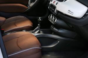Fiat 500 X Test: Innenraum, interior, Mittelkonsole