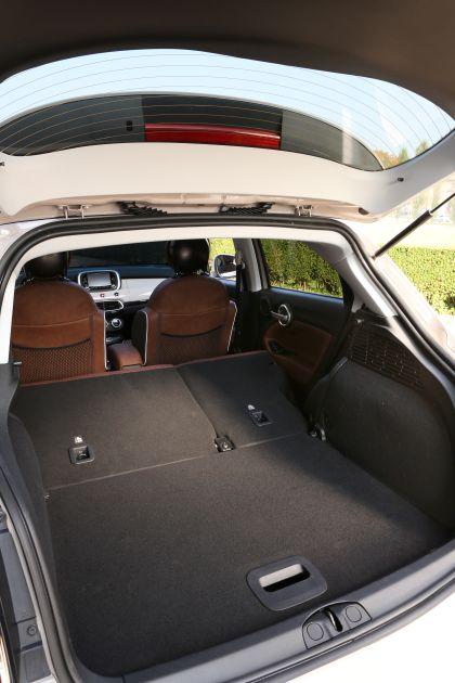 Fiat 500 X im Test: Kofferraum, trunk, boot